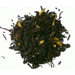 Schwarzer Tee mit Mango