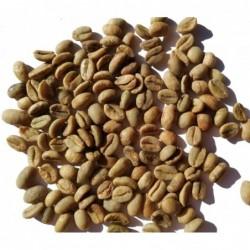 Grüne Kaffee-Bohnen aus Äthiopien zum Rösten