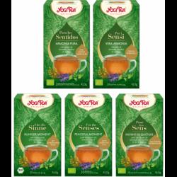 YogiTea® Tee für die Sinne RUHIGER MOMENT BIO 20Tb